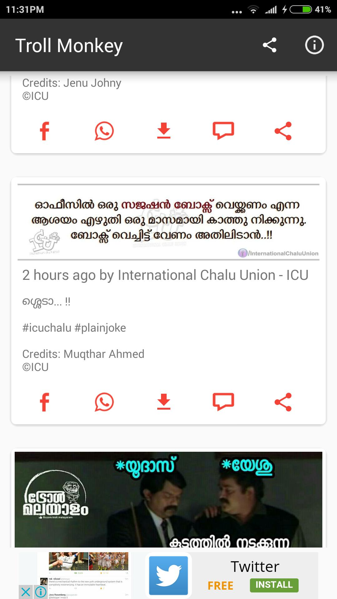 Malayalam Trolls Daily Updated - Troll monkey for Android - APK Download