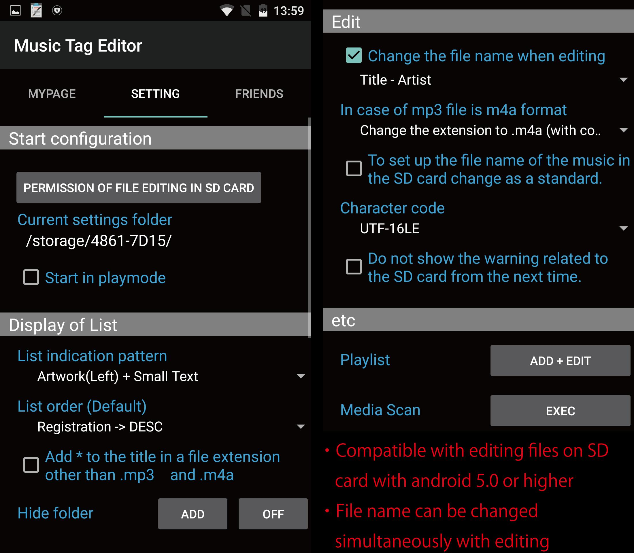 TK Music Tag Editor for Android - APK Download