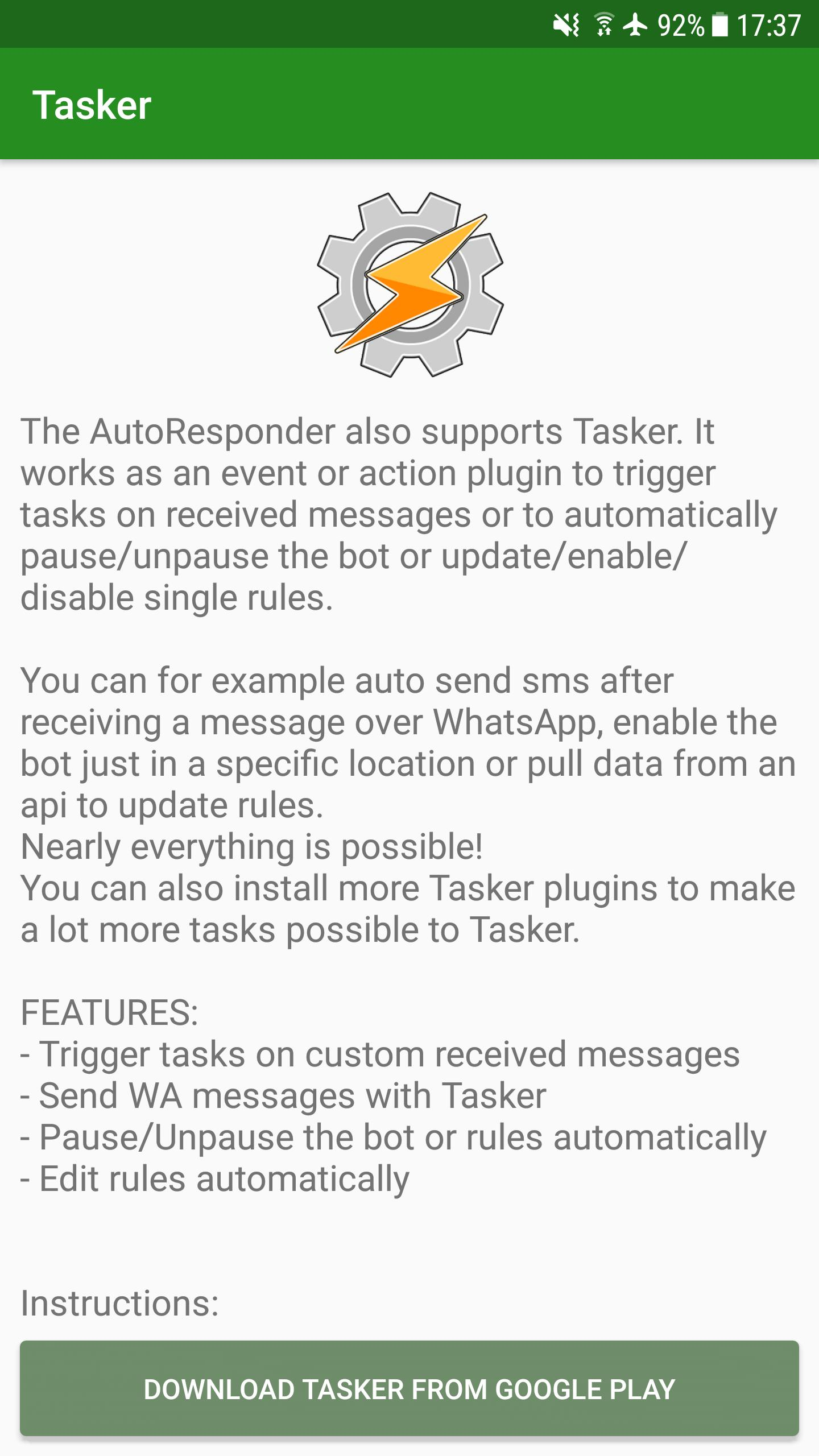 AutoResponder for WhatsApp for Android - APK Download