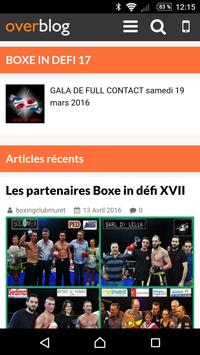 Boxe In Defi poster