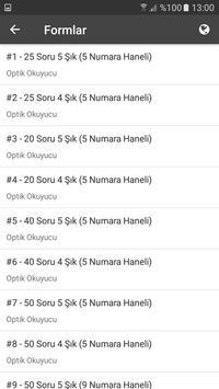 DİJOPTİK Optik Okuma apk screenshot