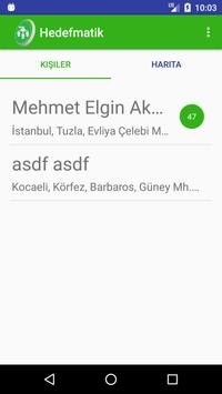 Hedefmatik apk screenshot