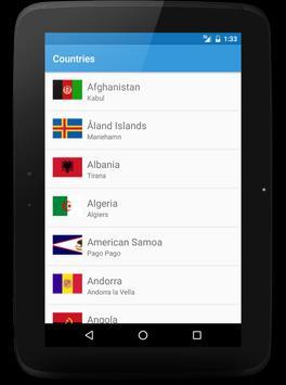 Countries apk screenshot