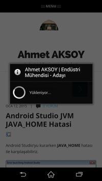 Ahmet AKSOY - IE poster