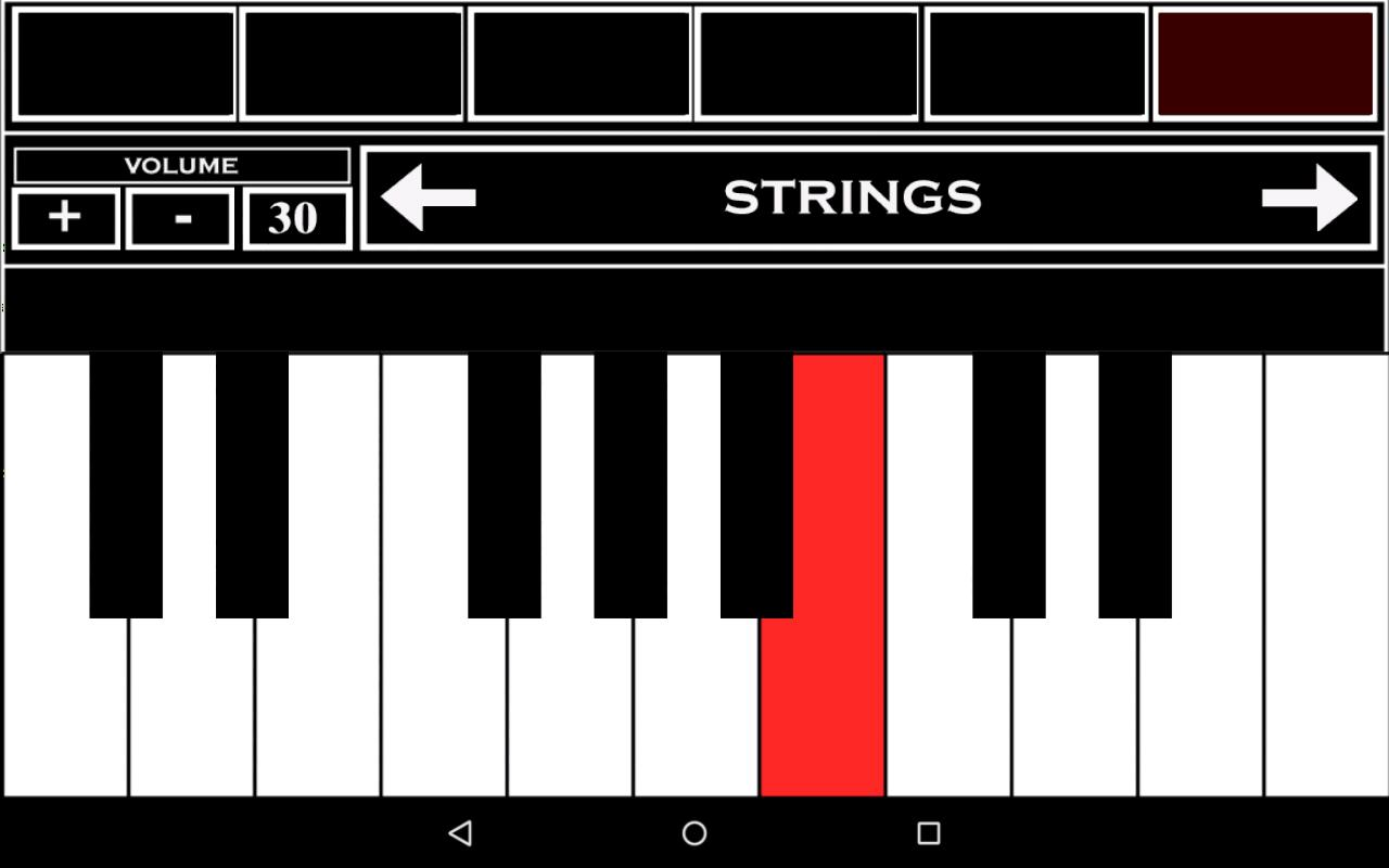 Virtual Piano Keyboard For Android