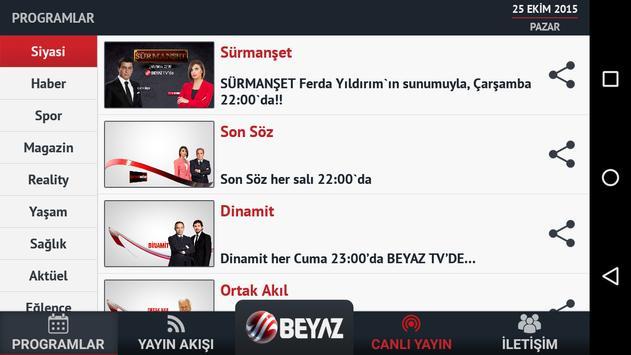 Beyaz TV screenshot 1