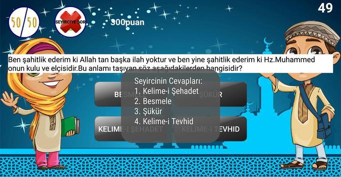 Çocuklar İçin Dini Sorular Bilgi Yarışması screenshot 3