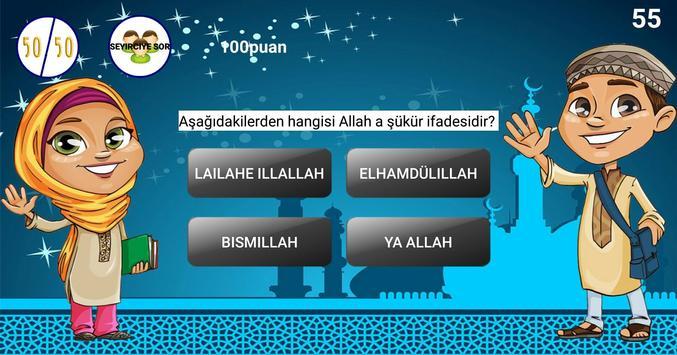 Çocuklar İçin Dini Sorular Bilgi Yarışması screenshot 4