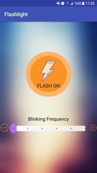 Brightest LED Blinking Flashlight Free poster