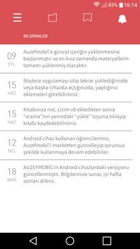 İÜ AUZEF apk screenshot