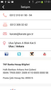 Türkiye Karate Federasyonu screenshot 6