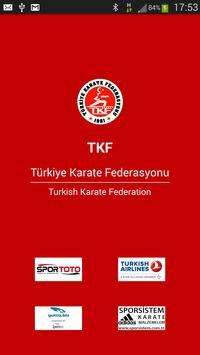 Türkiye Karate Federasyonu poster