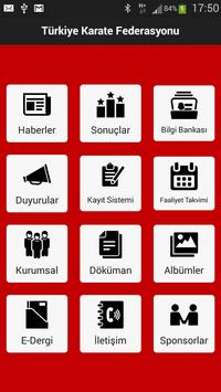 Türkiye Karate Federasyonu screenshot 1