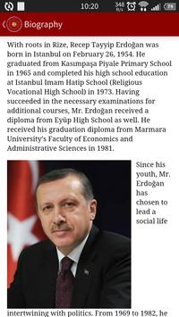 Pres of the Republic of Turkey poster