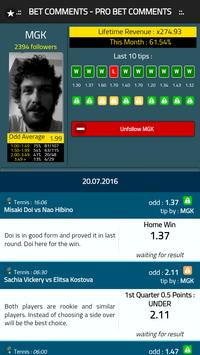 Bet Comments - Pro Bet Tips screenshot 3