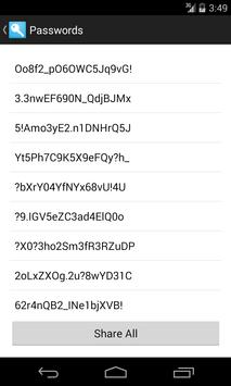 Passwordigy Password Generator apk screenshot