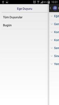 Ege Duyuru apk screenshot
