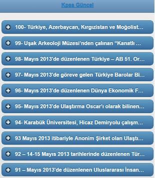2015 Kpss Güncelmatik apk screenshot