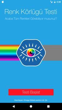 Color Blindness Test poster
