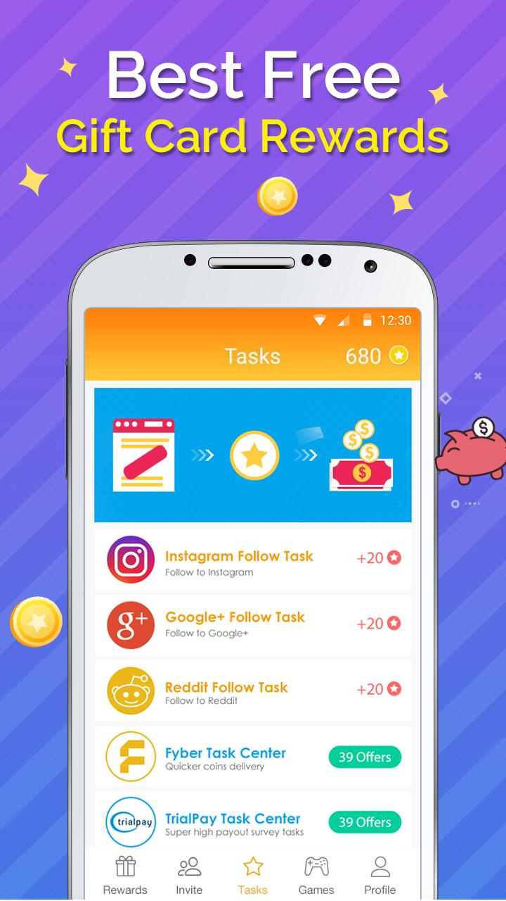 Gift Wallet - Free Reward Card for Android - APK Download