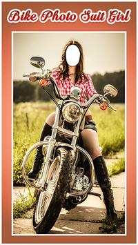 Bike Photo Suit For Girls poster