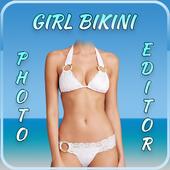 Girl Bikini Photo Editor icon