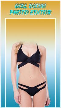 Girl Bikini Photo Editor poster