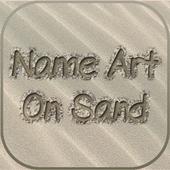 Name Art On Sand icon