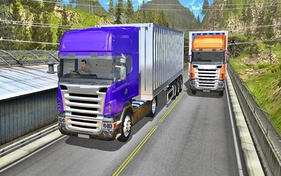 Truck Highway Racer 2017 apk screenshot