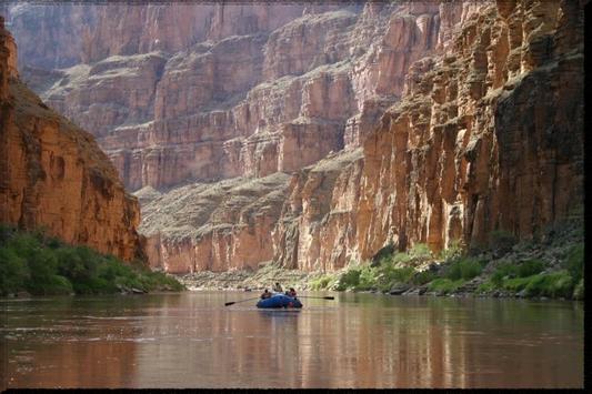 Colorado River wallpaper poster