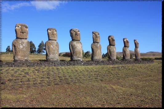 Easter Island wallpaper poster
