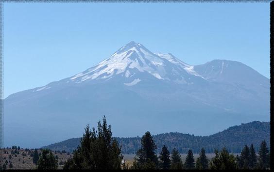 Mount Shasta wallpaper apk screenshot