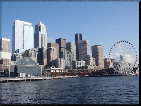 Seattle wallpaper screenshot 1