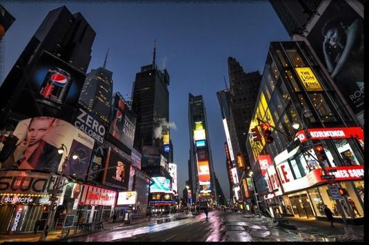 Times Square wallpaper poster