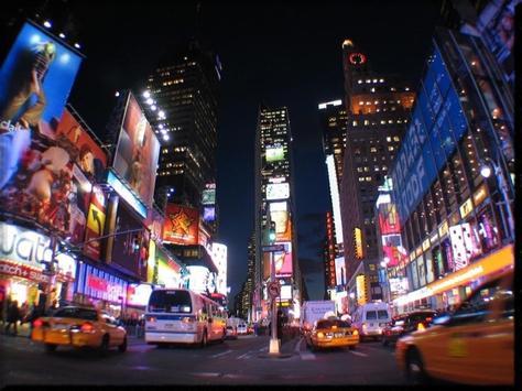 Times Square wallpaper screenshot 1
