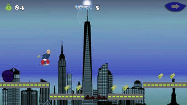 Trumpo:milion dollar adventure apk screenshot