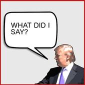 True or False: Trump icon