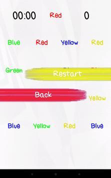 Stroop Test screenshot 2