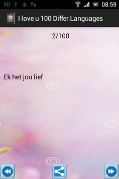 Anh yêu Em 100 ngôn ngữ apk screenshot