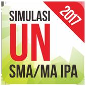 App Education android Simulasi UN SMA IPA 2017 UNBK offline 3d