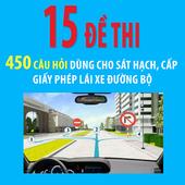 Ôn thi GPLX - 15 đề- 450 câu icon