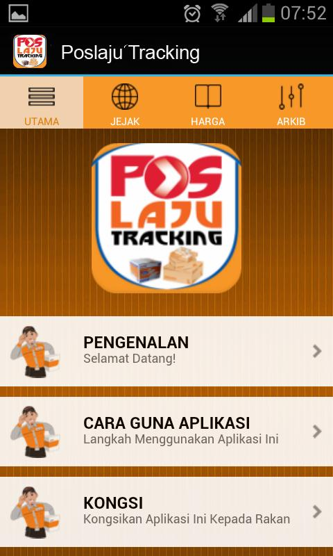 Pos Laju Tracking Number for Android - APK Download