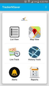 TrackerNSaver screenshot 1