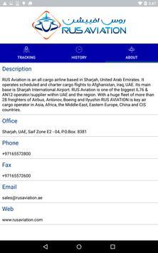 RUS Aviation Tracking apk screenshot