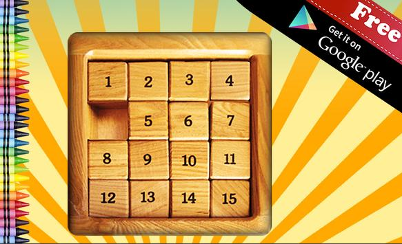 Traditional Sliding Puzzle poster