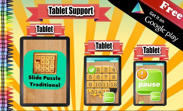 Traditional Sliding Puzzle apk screenshot