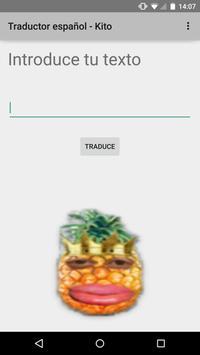 Traductor (Castellano-Kito) apk screenshot
