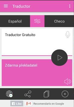 Traductor Checo Español apk screenshot