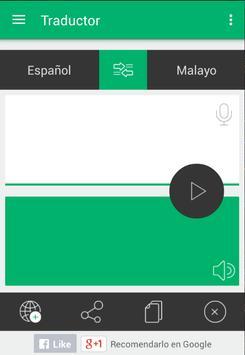 Traductor Español Malayo apk screenshot