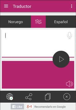 Traductor Noruego Español apk screenshot
